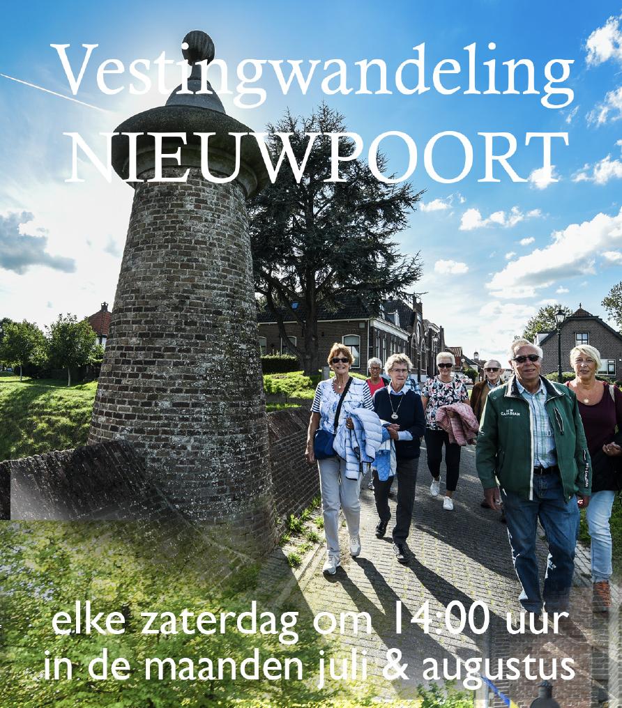 Vestingwandelingen in Nieuwpoort