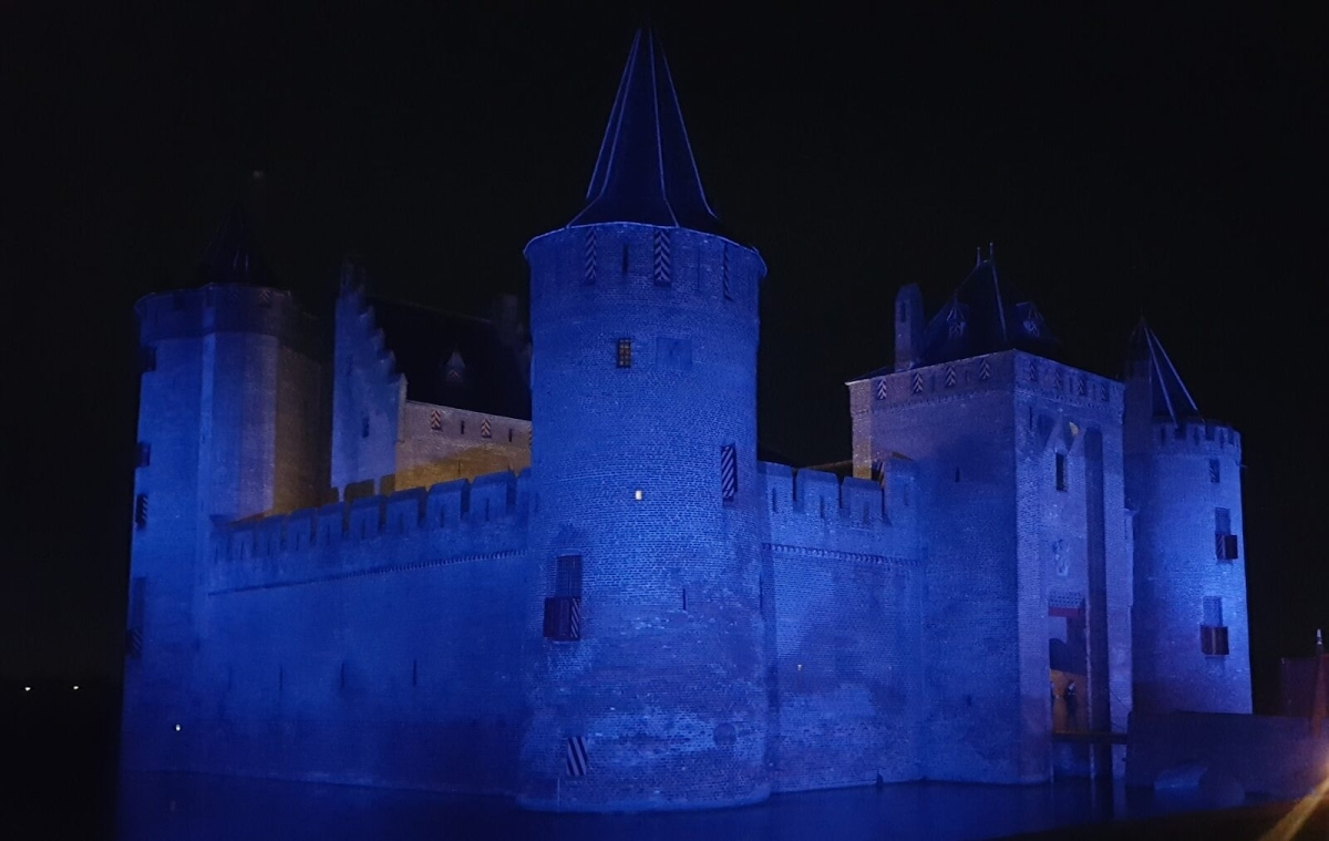 Halloween op kasteel Muiderslot