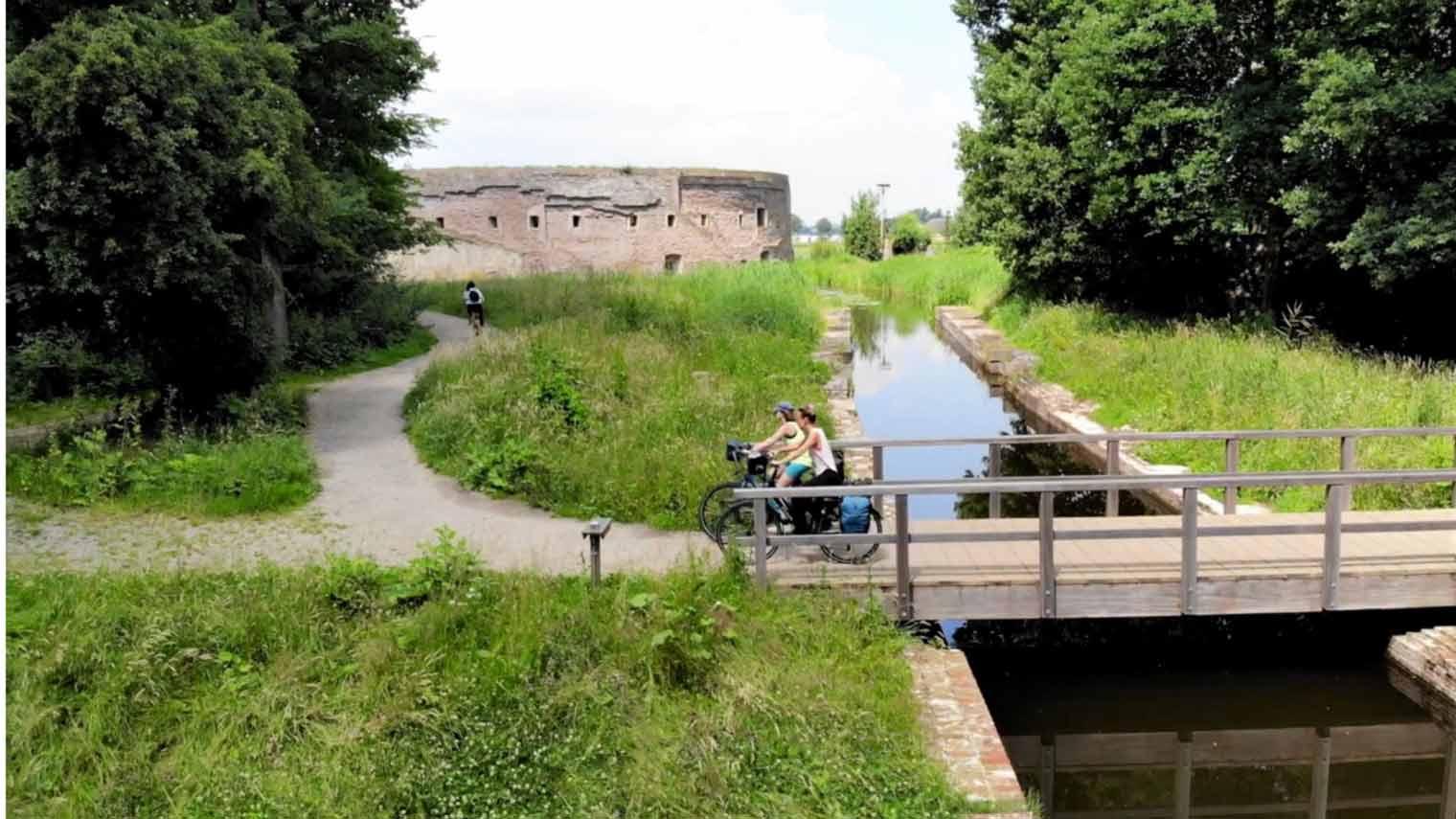 ANWB fietsroute: De verborgen schatten van drie waterlinies