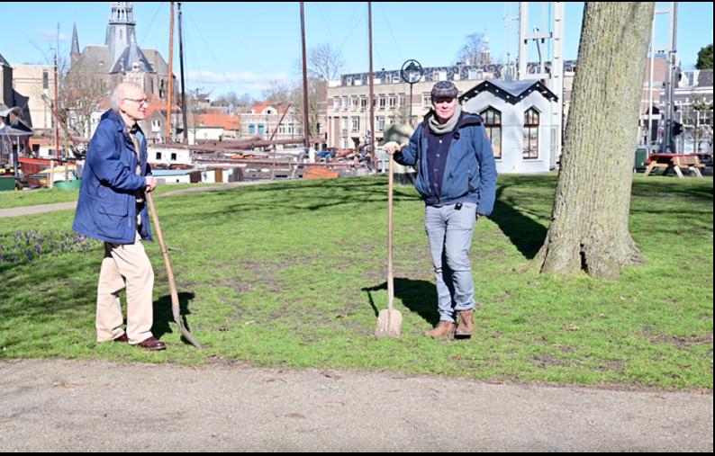 Archeologen doen onderzoek naar de verloren Statensluis