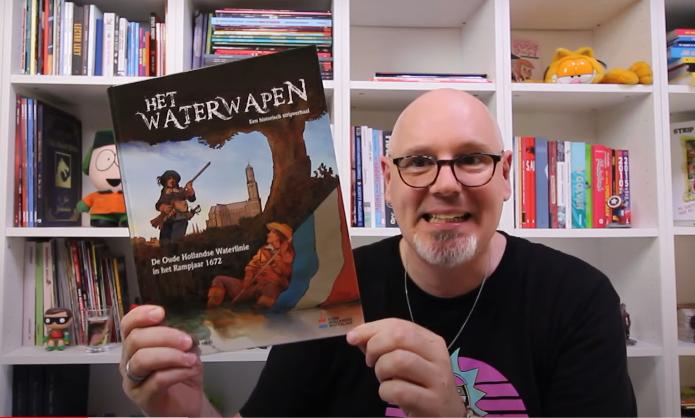 Stripvlogger vlogt over Het Waterwapen